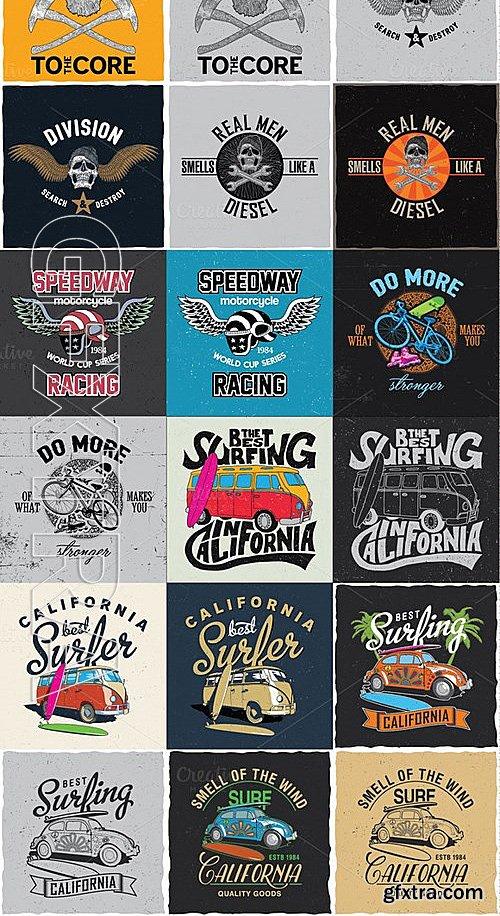 CM - T-shirt design BIG BUNDLE 473387