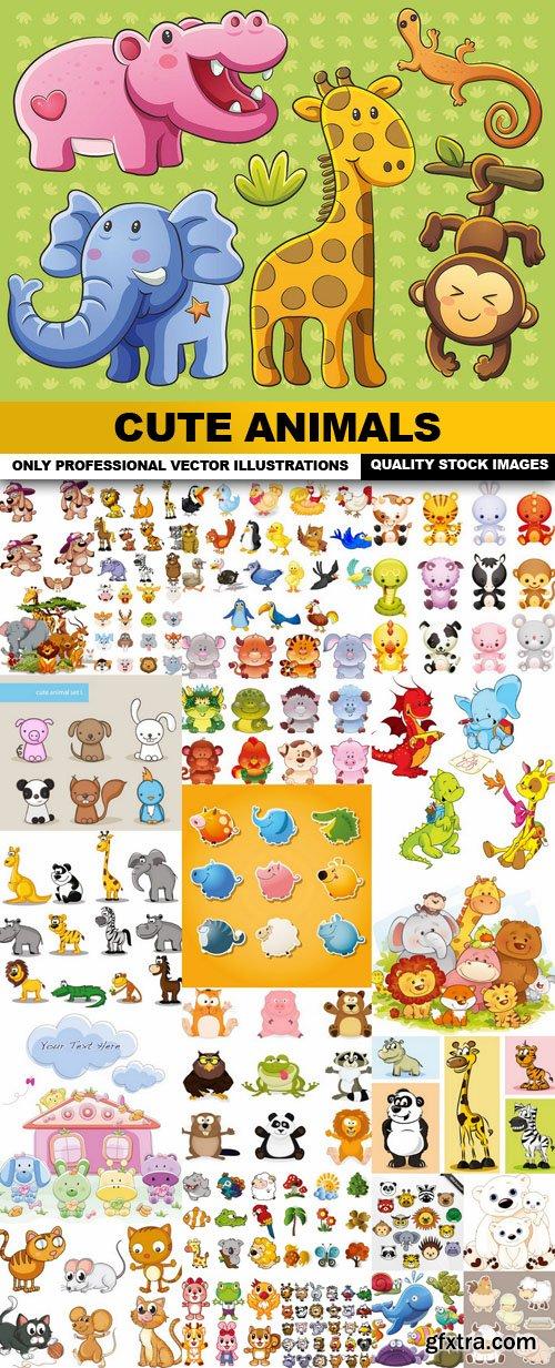Cute Animals - 25 Vector