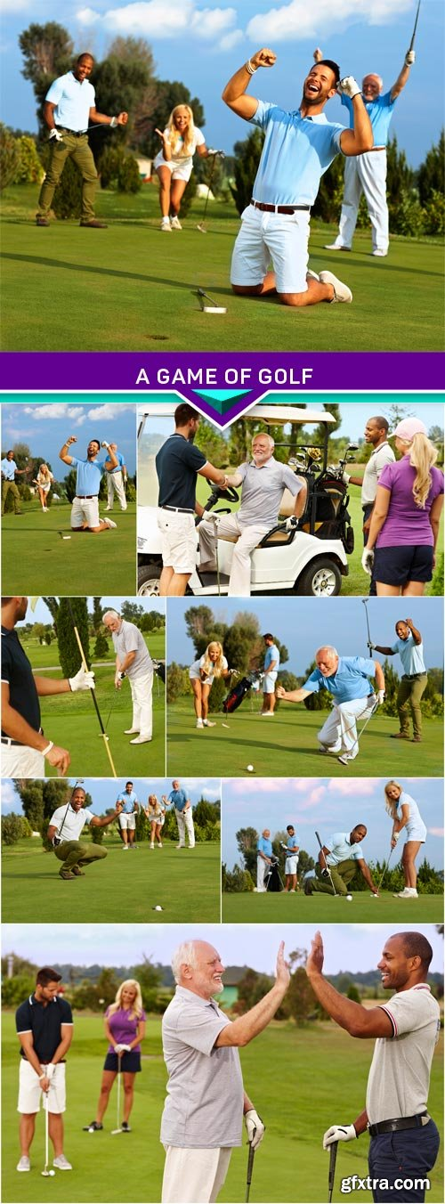 A game of golf 8x JPEG
