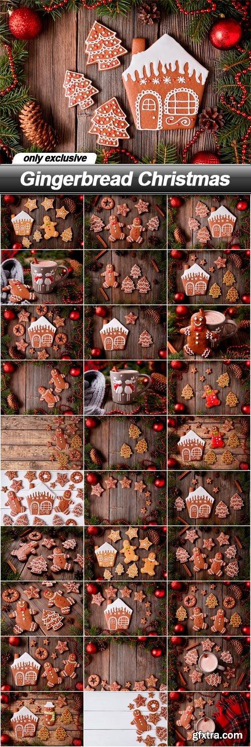 Gingerbread Christmas - 30 UHQ JPEG