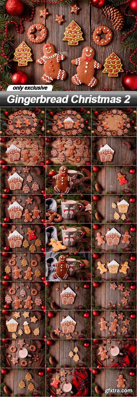Gingerbread Christmas 2 - 30 UHQ JPEG