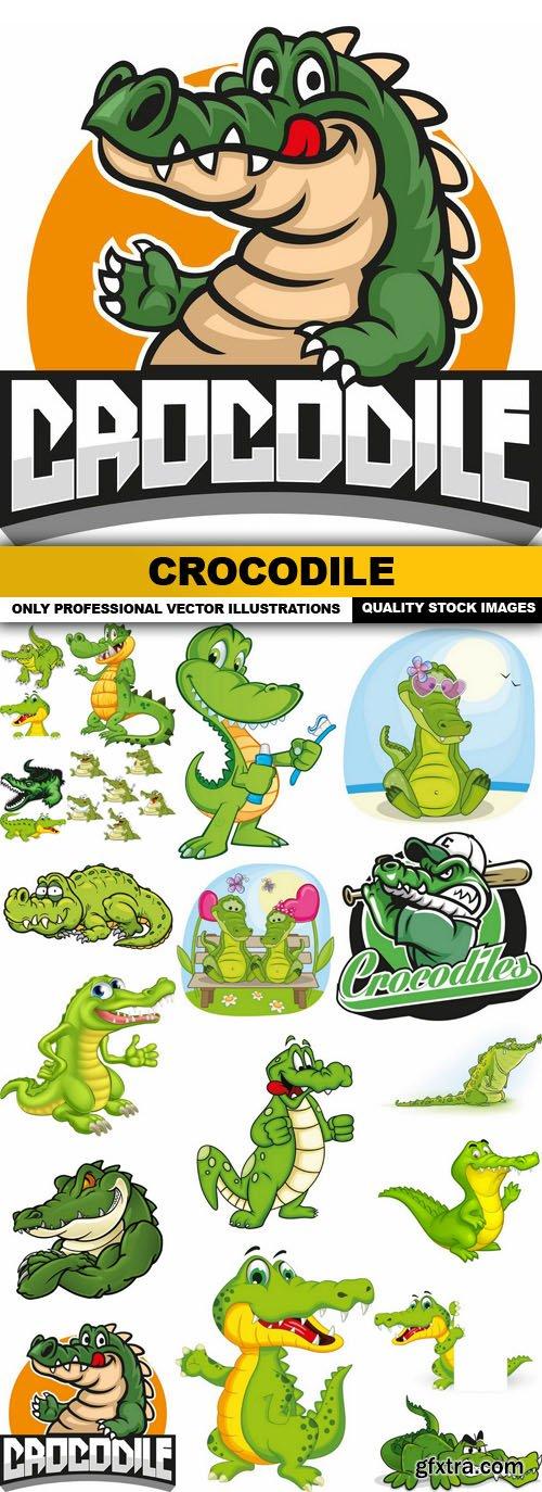 Crocodile - 20 Vector