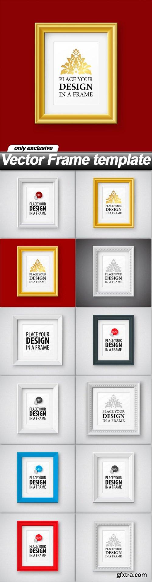 Vector Frame template - 12 EPS