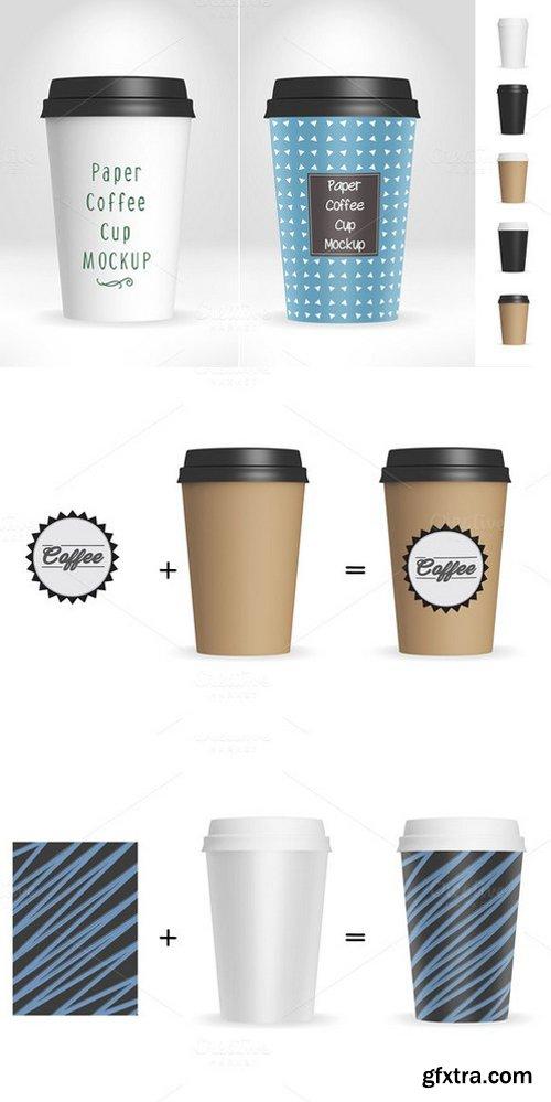 CM - Paper Coffee Cup Mockup V1 475485