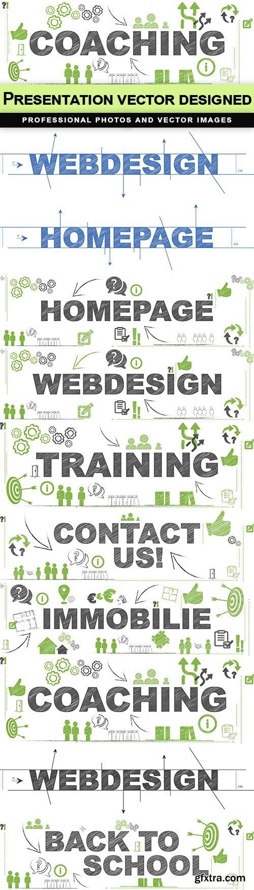 Presentation vector designed