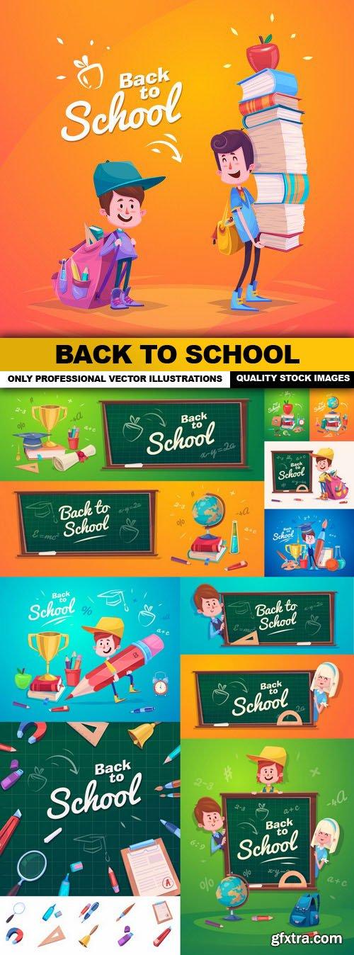 Back To School - 10 Vector