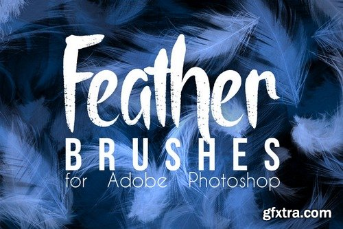 CM - Real Feather Photoshop Brushes 421147