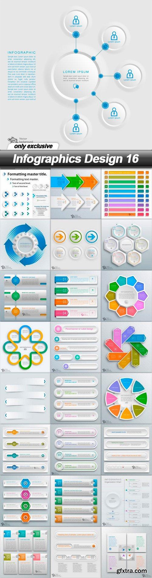 Infographics Design 16 - 25 EPS