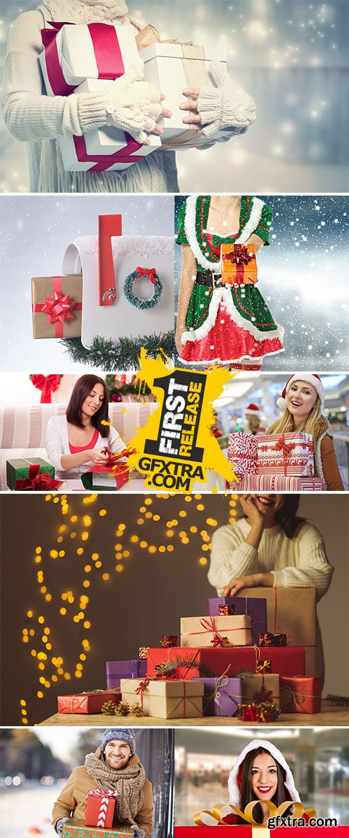 Stock Image Christmas package