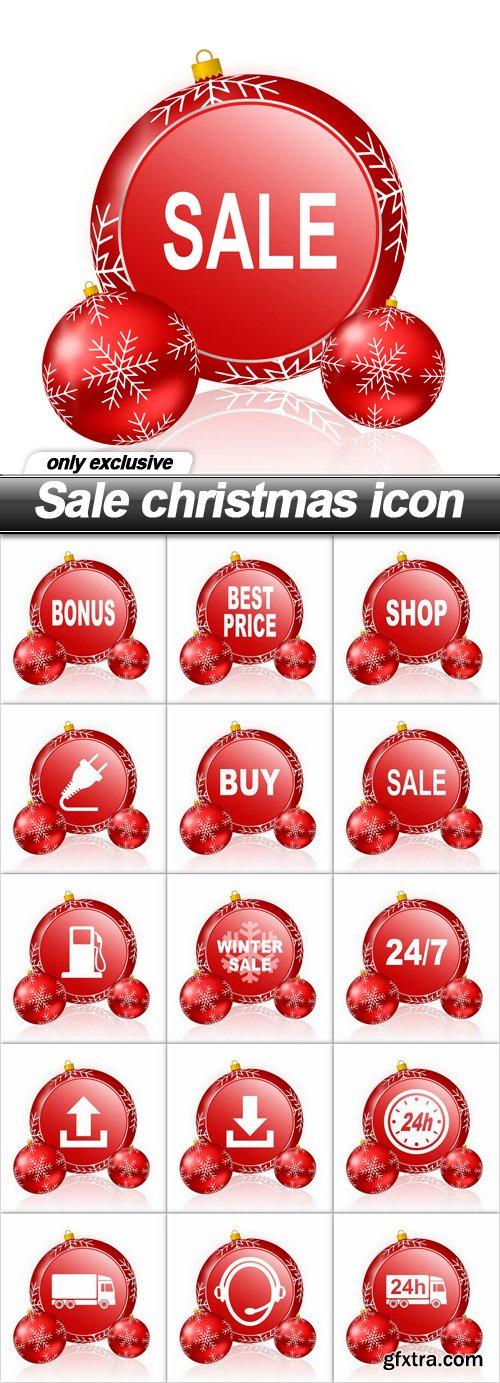 Sale christmas icon - 15 UHQ JPEG