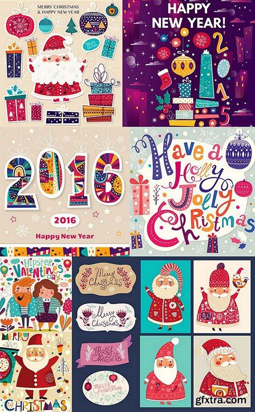 Christmas Set 4 - 12xEPS