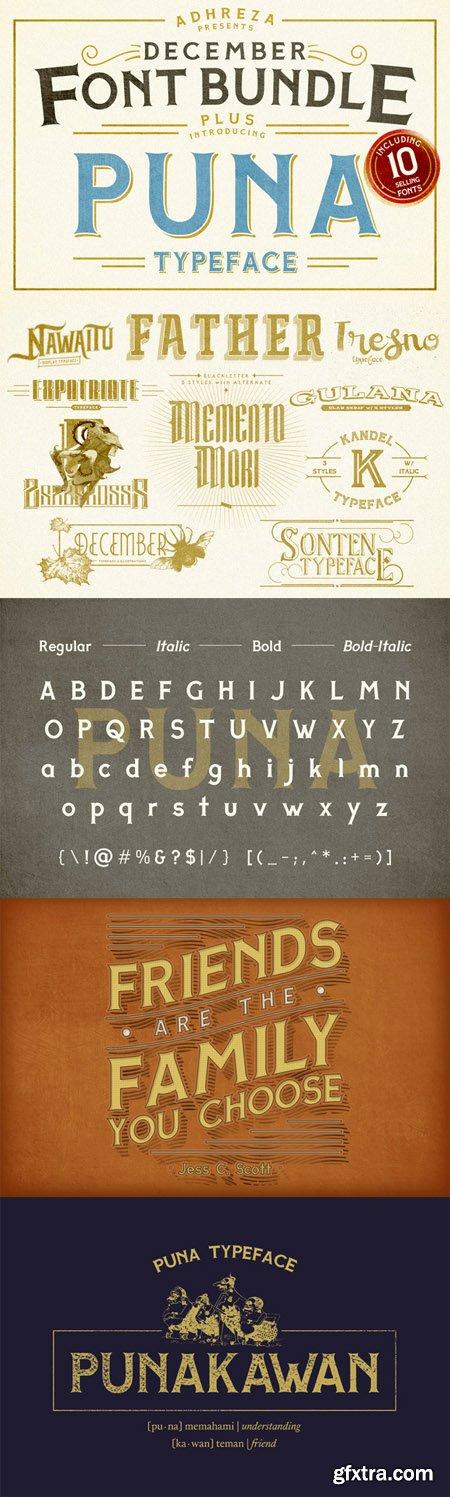 CM - Adhreza's Bundle + PUNA Typeface 475232