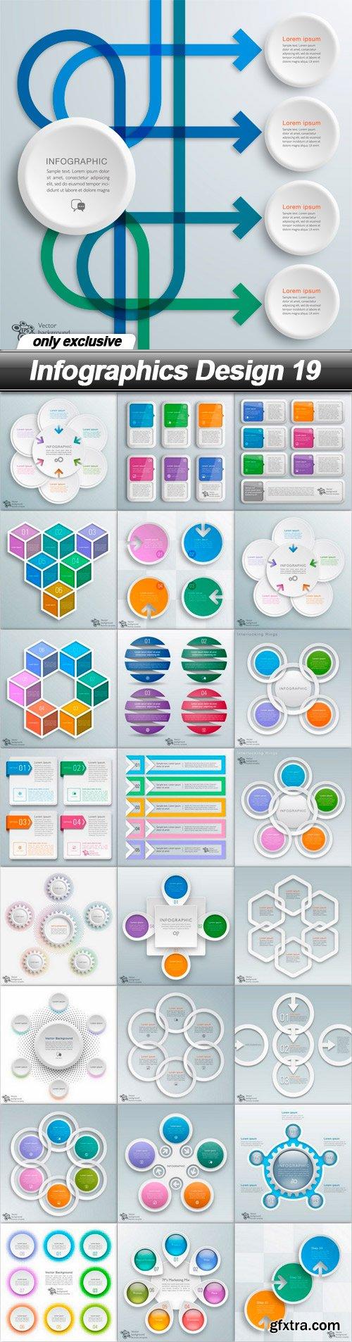 Infographics Design 19 - 25 EPS