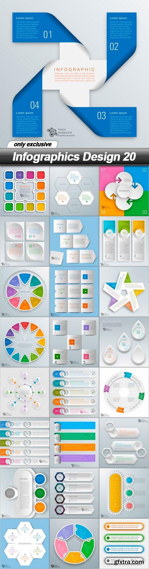 Infographics Design 20 - 25 EPS