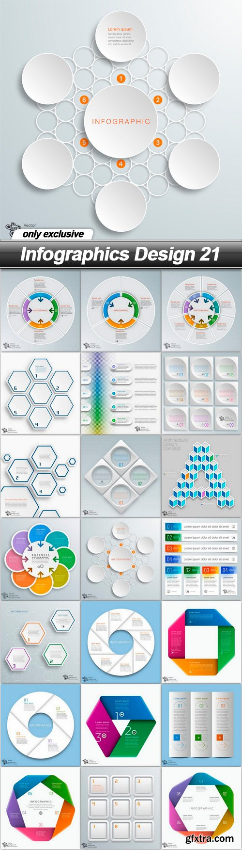 Infographics Design 21 - 21 EPS