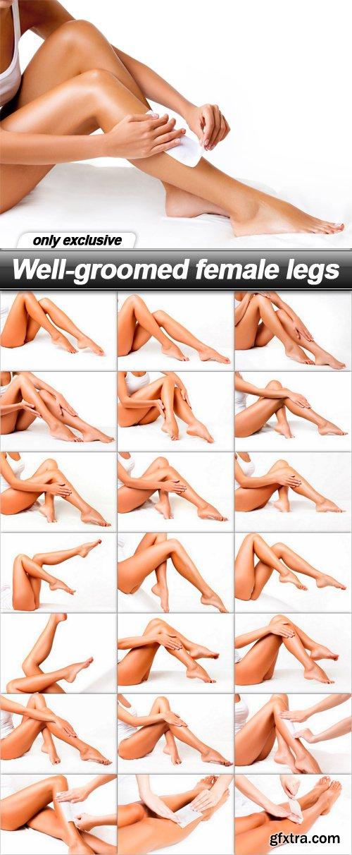 Well-groomed female legs - 22 UHQ JPEG