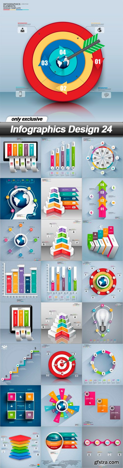 Infographics Design 24 - 25 EPS