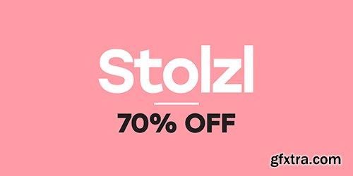 Stolzl Family Fonts - 6 Fonts $200