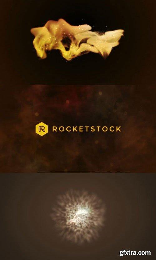 RocketStock - Airflow Particle Logo Reveal