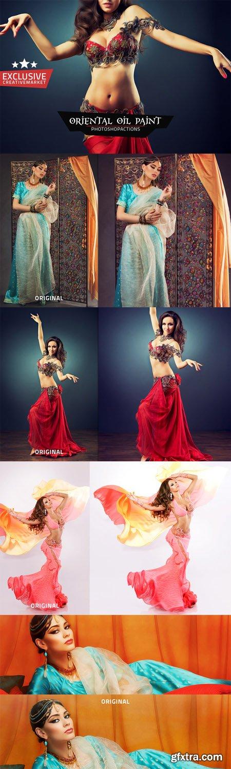 CM - Oriental Oil Paint Actions 479053