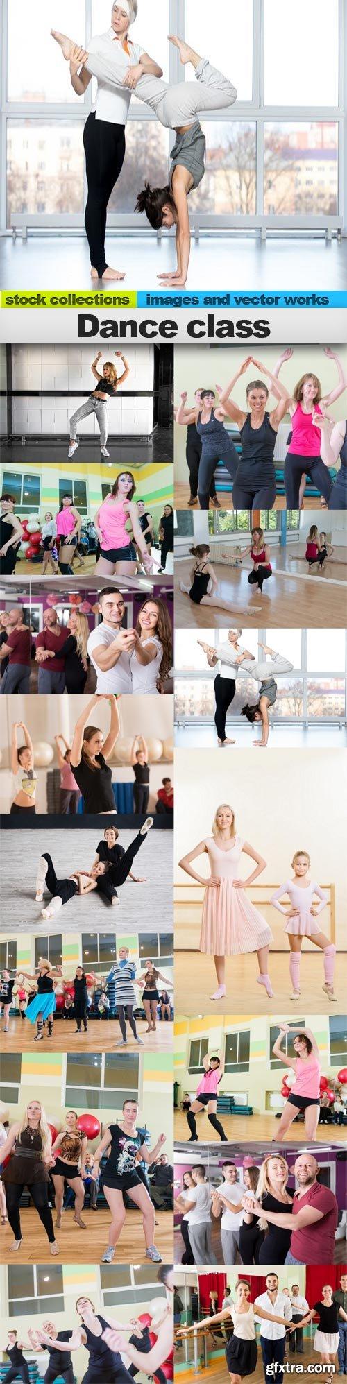 Dance class, 15 x UHQ JPEG
