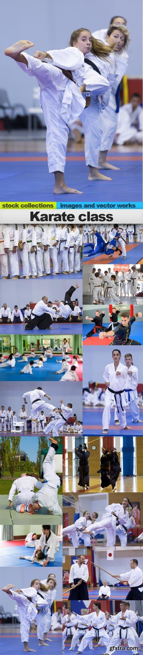 Karate class, 15 x UHQ JPEG