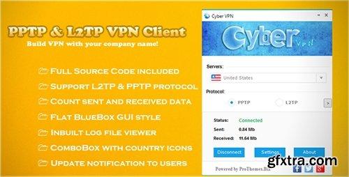 CodeCanyon - PPTP & L2TP VPN Client v1.0 - 8167857
