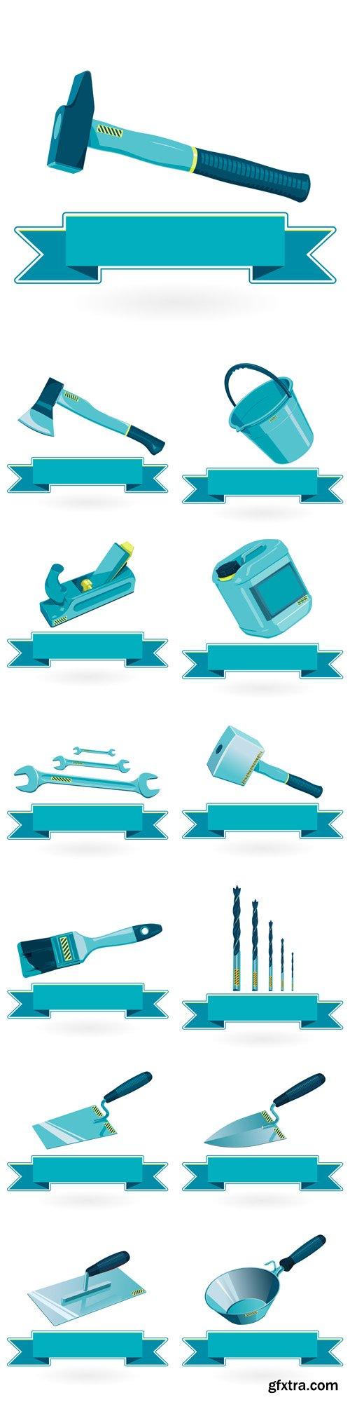 Construction Tools - Vectors A000033