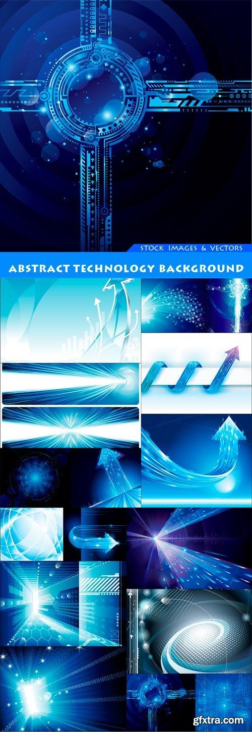 Abstract technology background 16X JPEG