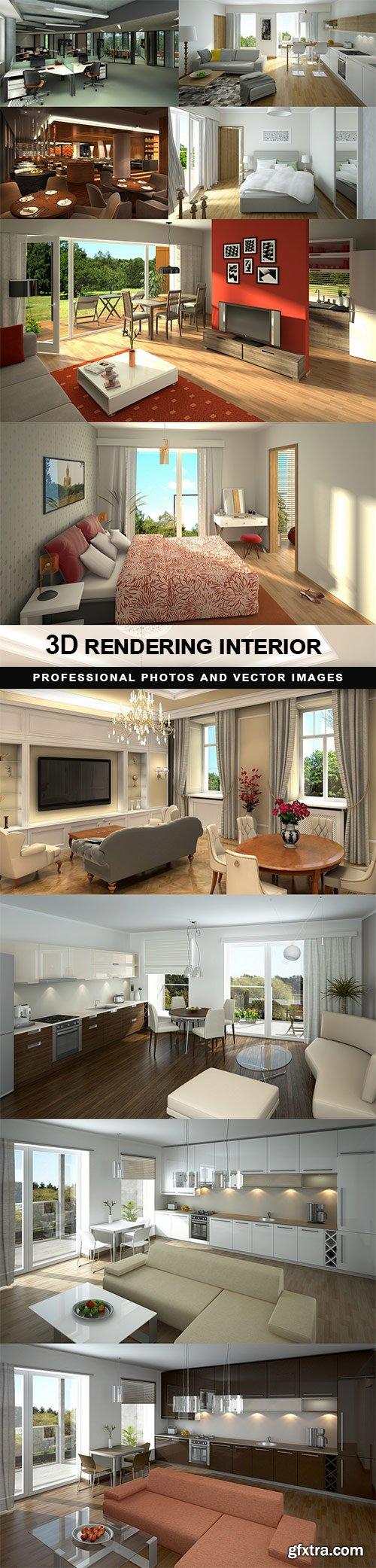 3D rendering interior