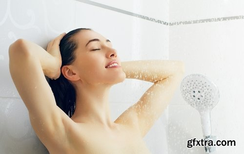 Collection of woman a man a woman in the shower empty 25 HQ Jpeg