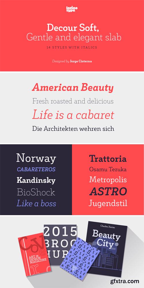 Decour Soft Font Family