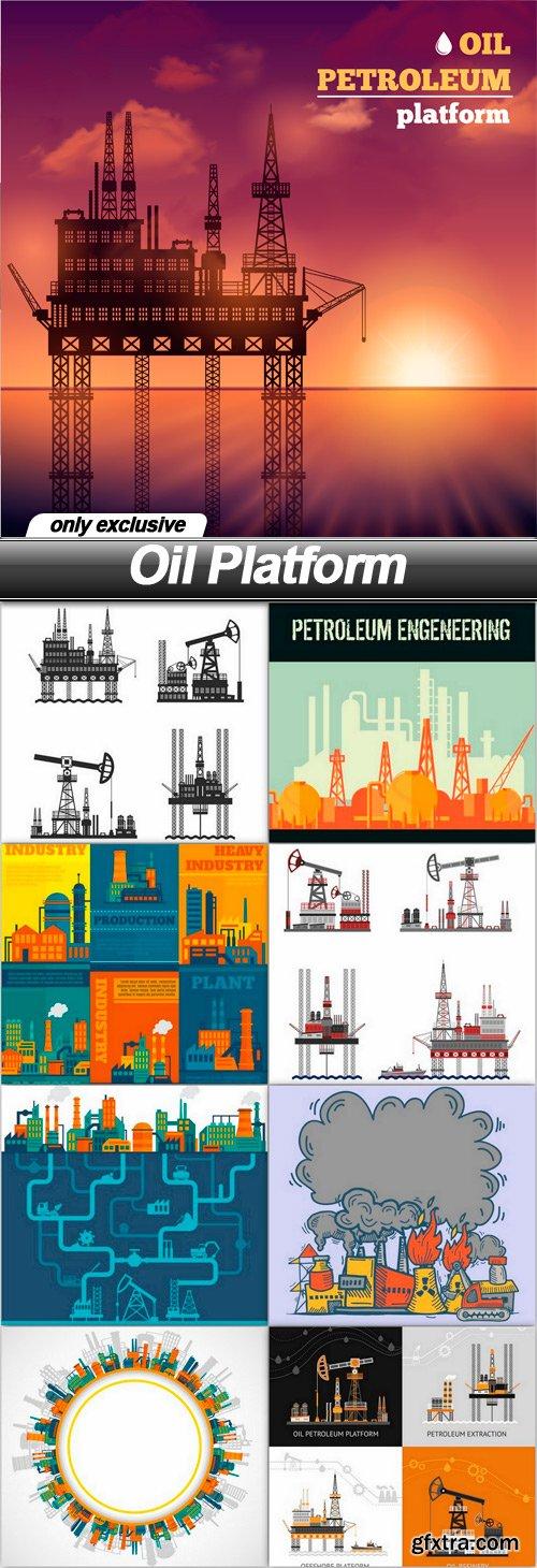 Oil Platform - 9 EPS