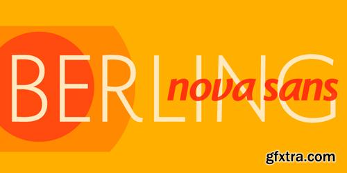 Berling Nova Sans Font Family