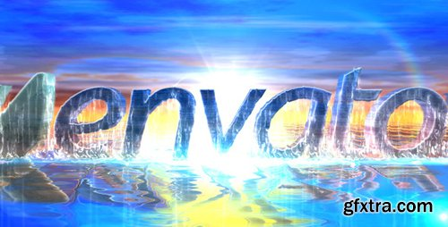 Videohive Sea Water Logo Intro 4761545 (Sound FX included)