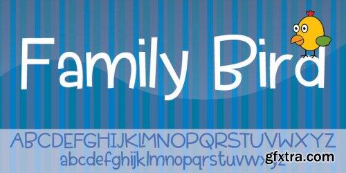 Family Bird Font Family