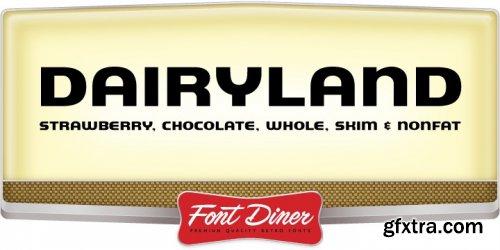 Dairyland Font