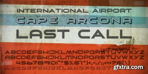 CA Aircona Font Family