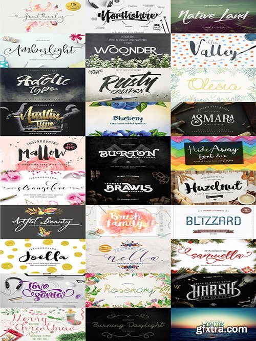 CreativeMarket Typographer's January Dream Bundle 483957