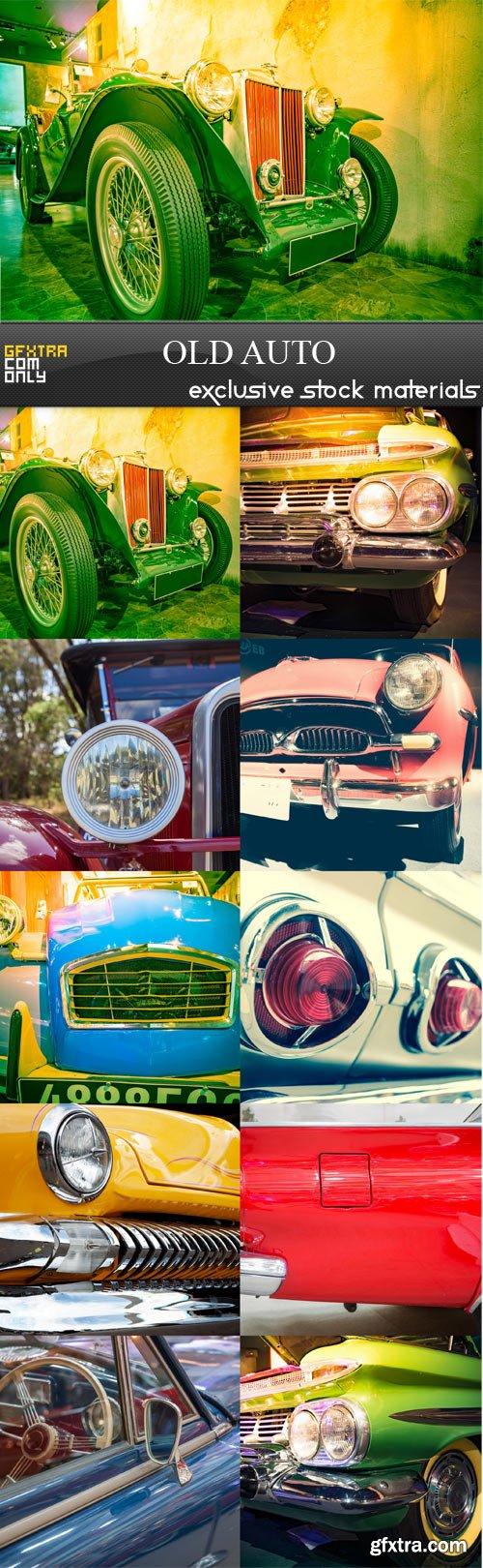Old auto -10 JPEGs