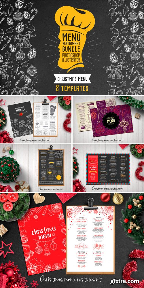 CM 454843 - Christmas Menu Bundle