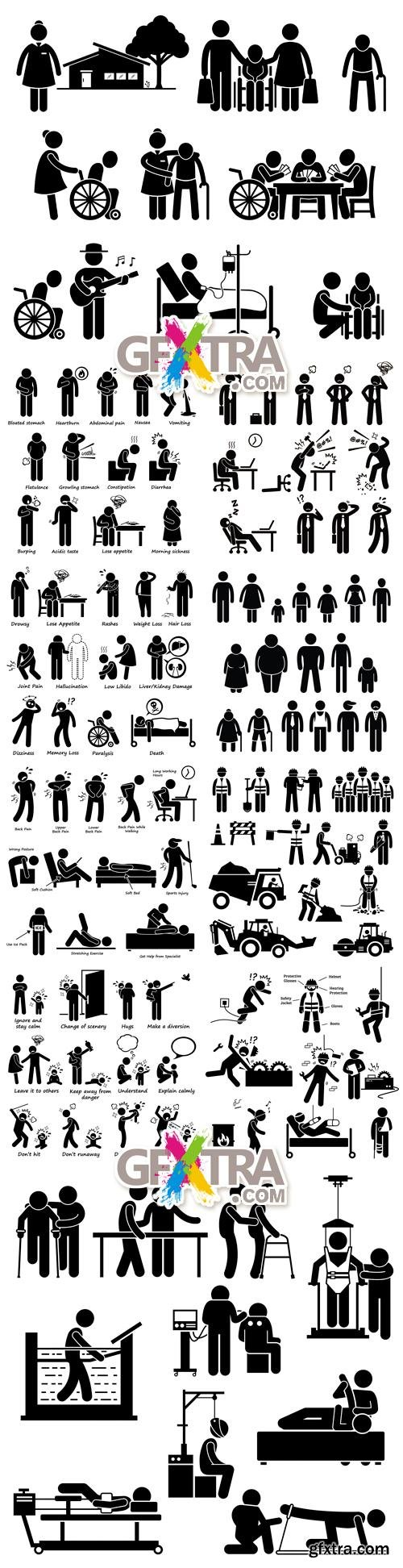 People Silhouettes Vector 2