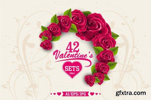 CreativeMarket Valentine's Day Sets - Vol 1 483359