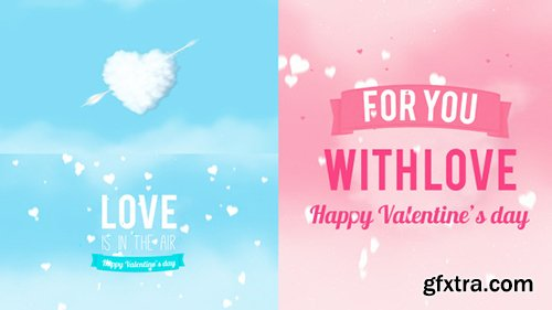 Videohive Valentines Day Card 10070403