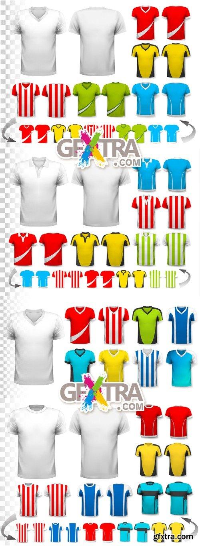 T-shirt Templates Vector