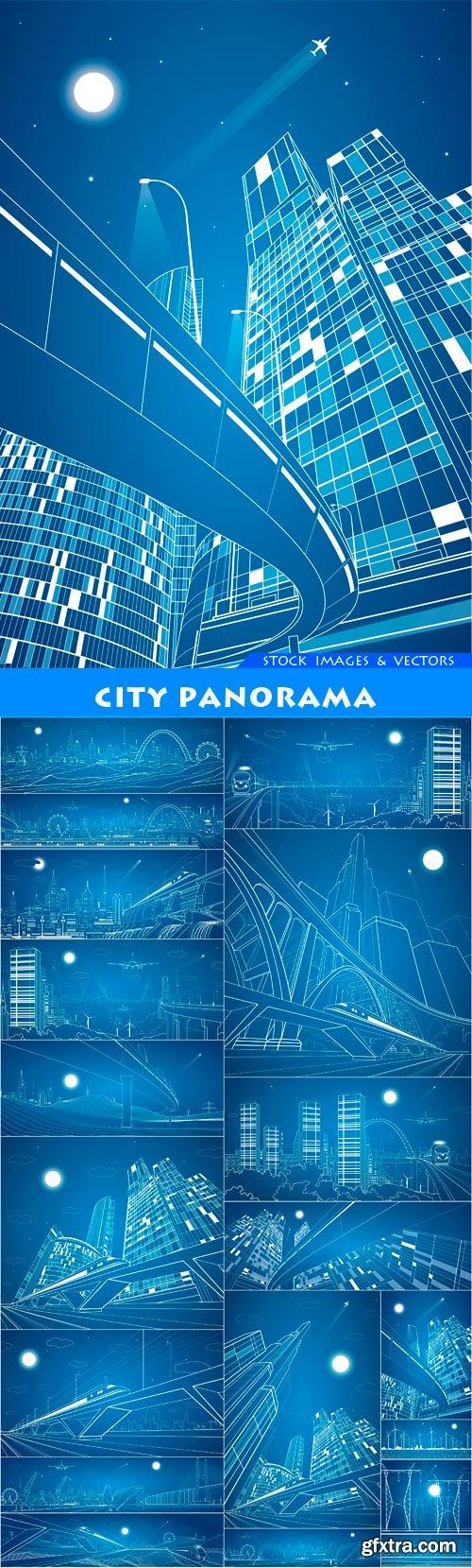 City panorama 19X EPS