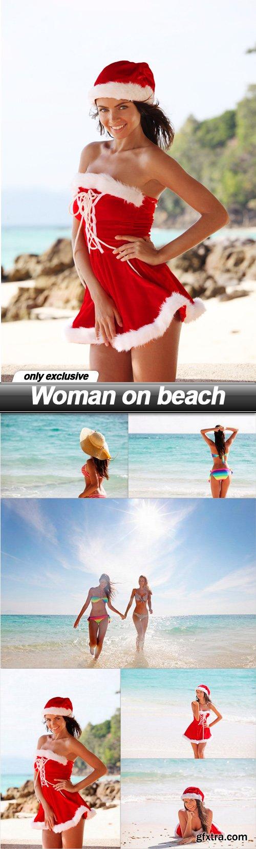 Woman on beach - 6 UHQ JPEG
