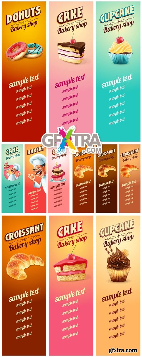 Food Banners Vector 2