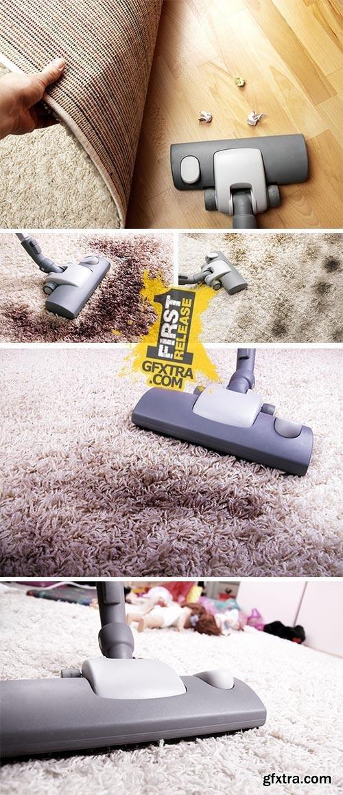 Stock Photo: Very dirty carpet