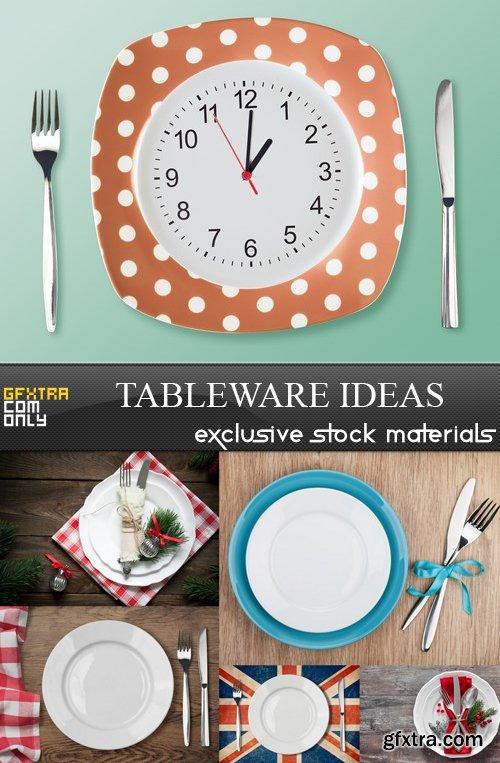 Tableware Ideas - 6 UHQ JPEG